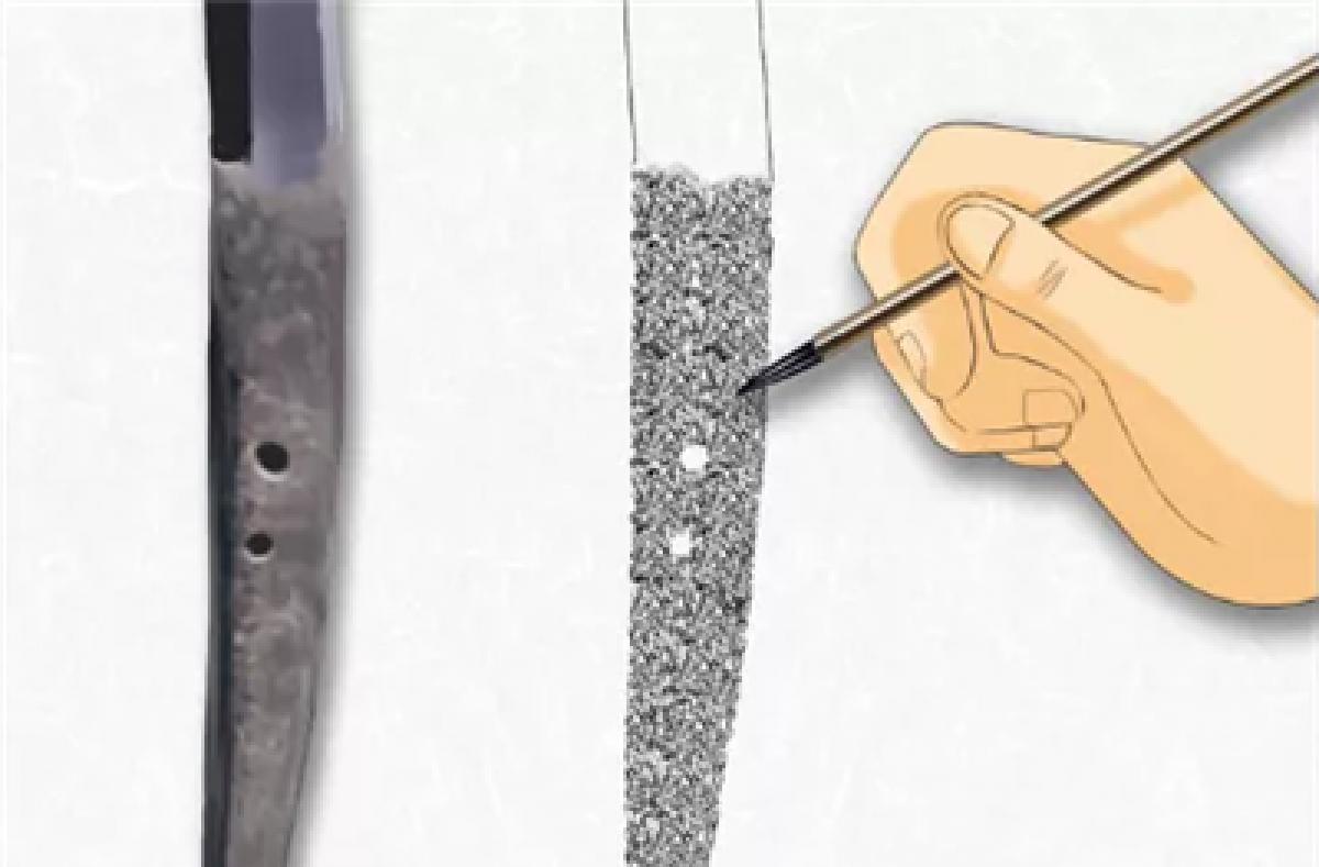 日本刀基础连载(十)——押形